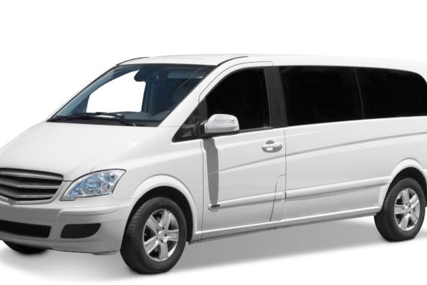 window tinted white van