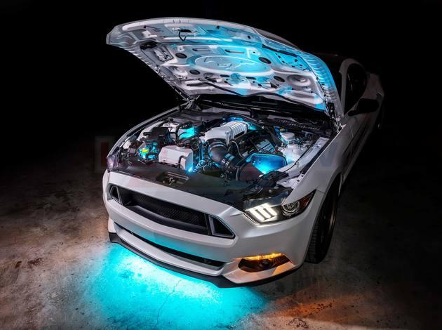 car led glow